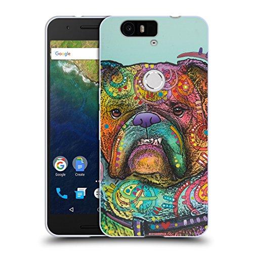 Oficial Dean Russo Vinny Perros 3 Carcasa de Gel de Silicona Compatible con Huawei Nexus 6P