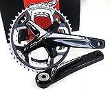 FSA Gossamer Pro 386EVO ABS DB Road Bicycle Crankset (Black - 46/36t - 175 w/o BB N-11)