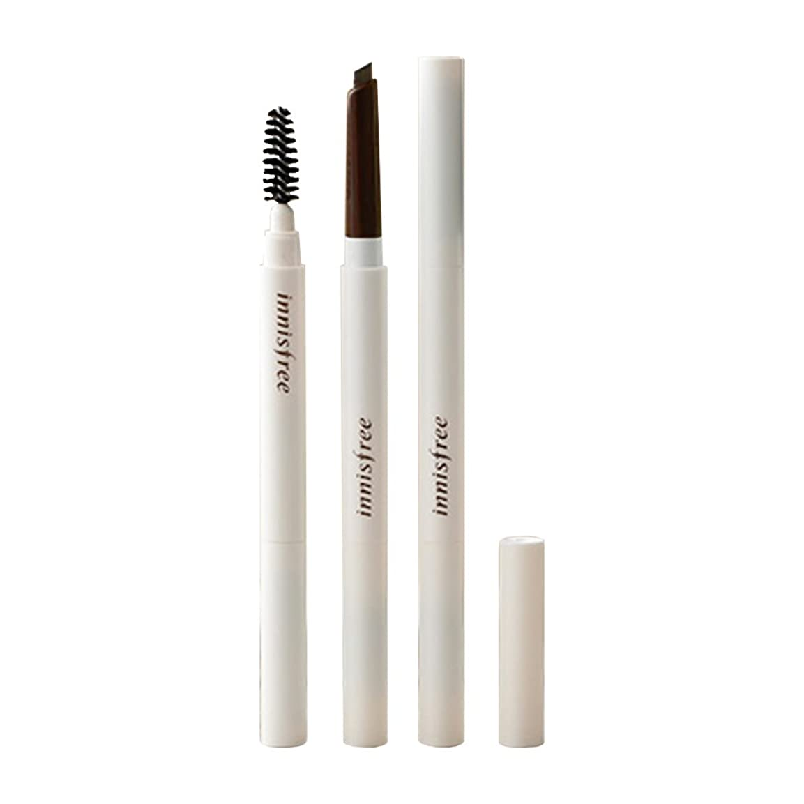 (3 Pack) INNISFREE Auto Eyebrow Pencil - Urban Brown Before Daylight (並行輸入品)
