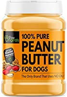 THE 1ST OF ITS KIND - SUPER SMOOTH PASTE - Our peanut butter paste treat is the smoothest on the market. Using only roasted peanuts, our formulation contains none of the processed junk and preservatives found in all other brands. Once your pooch trie...