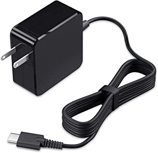 VHBW 65W USB-C 充電器 Type-C ACアダプター PD 対応Macbook,dell-XPS/Latitude/Chromebook/,Lenovo-ThinkPad/Yoga,HP-Chromebook/Spectre/El...