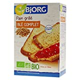 Bjorg Pain Grillé Blé Complet, Bio, La boîte de 250g