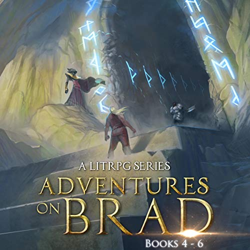 Page de couverture de Adventures on Brad Books 4-6