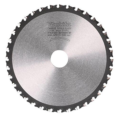 Makita B-09743 - Disco de HM de 185 mm 36 dientes para cortadora de metal lc1230