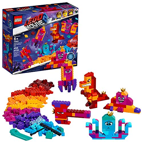LEGO THE LEGO MOVIE 2 Queen Watevra?s Build Whatever Box; 70825 Pretend Play Toy and Creative Building Kit for Girls and Boys (455 Pieces)