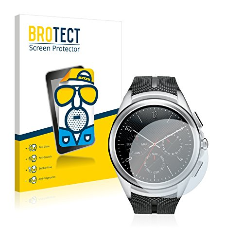 BROTECT 2X Entspiegelungs-Schutzfolie kompatibel mit LG Watch Urbane 2nd Edition Displayschutz-Folie Matt, Anti-Reflex, Anti-Fingerprint