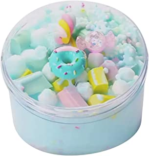 Fenebort Stress Relief Toys Ice Cream Beautiful Color Mixing Cloud Slime Putty Scented Stress Kids Clay Toy Simulation Toy Stress Relax