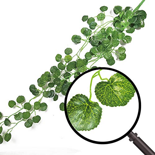 ECYC 90cm Artificial Plant Vines Wall Hanging Simulation Rattan Leaves Branches Green Plant Ivy Leaf Home Wedding Decoration