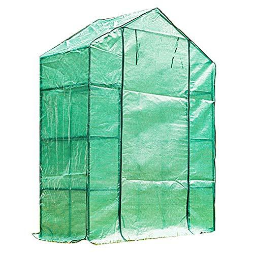 HWLL Cubierta de Plantas para El Invierno - Invernadero de Plástico, Plantas Resistentes a la Corrosión de PVC Nivel de Jardín de Invernadero Cubierta de Invernadero Impermeable