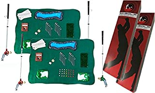 Classic Golf Gifts M.I. Golf Mini Indoor Golf Game Set of Two Mini Indoor Golf Competition Sets 6000-1
