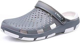 Hombres Sandalias Slipper Hembra de luz Hueca Transpirable Antideslizante Playa Sandalia de Verano Zapatos Casuales de Agua Resistente al Desgaste