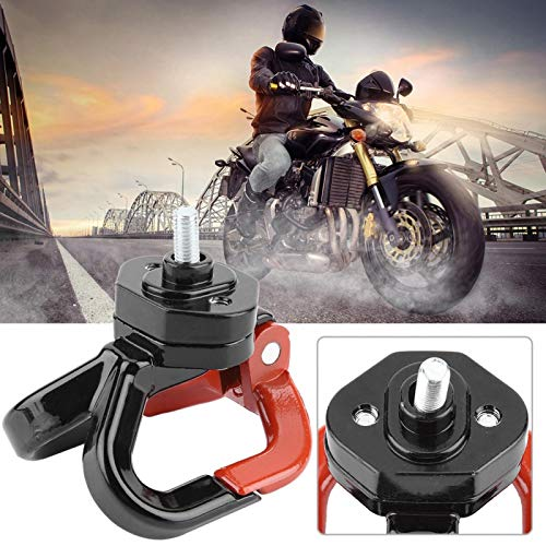 Gancho de motocicleta antioxidante duradero, gancho de motocicleta de aluminio, gancho de scooter de motocicleta, no se cae fácilmente Fácil de usar para bicicletas, ciclomotores de