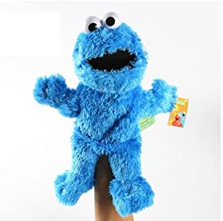 "Sesame Street Cookie Monster Plush Puppet 13"""