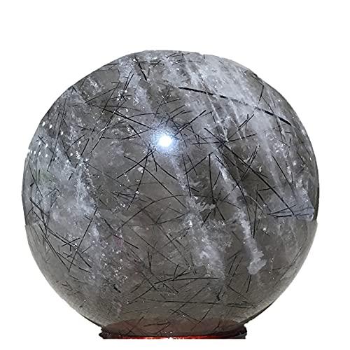 結晶のラフ 自然球ツーラリンクリスタルギフトホーム家具結婚式の装飾石グローブレイキヒーリングボール