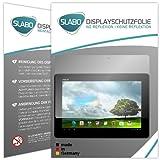 2 x Slabo Bildschirmschutzfolie Asus MeMO Pad Smart ME301T 10.1 Bildschirmschutz Folie