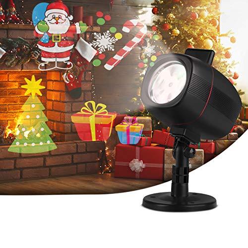 Luces de Proyector,Navidad Impermeable,con 16 Diapositivas de Patrón