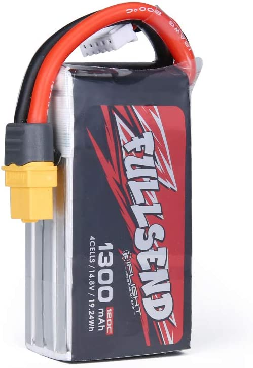 iFlight FULLSEND 1300mAh 120C Don't miss the campaign 14.8V 4S Max 86% OFF XT60H for Battery Lipo -