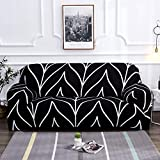 ASCV Stretch Sofa Slipcovers Elastic Stretch Sofa Cover for Living Room Couch Cover L Shape Armchair Cover A1 2 Seater