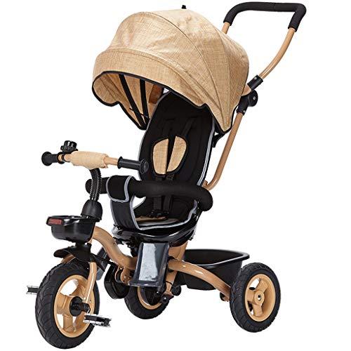 BLWX - baby kind driewieler fiets 1-3 jaar oud vouwen auto Baby kinderwagen Baby kinderwagen lichtgewicht Wagon babywagen B