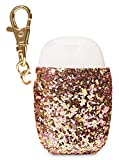 Hand Sanitizer Holder Compatible w/Bath and Body Works Hand Sanitizer- Many Styles! (Rose Gold Sequin)