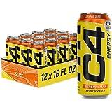 C4 Energy Carbonated Zero Sugar Energy Drink,...