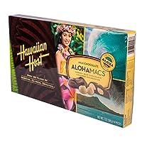Hawaiian Host Milk Chocolate AlohaMacs 7 ハワイアンホスト ミルクチョコレートアロハマックス198 g [海外直送品]