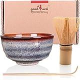 Goodwei Set di tè Matcha Giapponese (Uji)