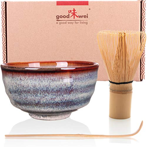 Goodwei Japanisches Matcha-Set, 3-teilig (Uji)