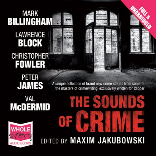The Sounds of Crime audiobook cover art