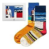 ARTSOCKS kreative und bunte Socken (Damen und Herren) Preisgekrönte Designs mit berühmte Kunstwerken Perfekt als kreative Geschenkidee