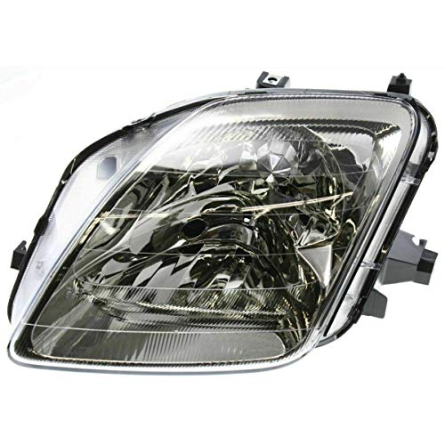 DEPO 1997-2001 Prelude Headlight Driver Side Left Hand LH - HO2518109 33151S30A02