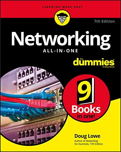 Networking All in One For Dummies product image