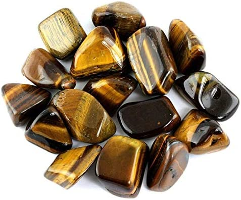 OnlineScienceMall Tiger's Eye Polished Mineral Philadelphia Mall Gemstone Rocks 3 OFFicial store