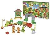 Dino tren - Juego de construcción (Mega Bloks 07405)