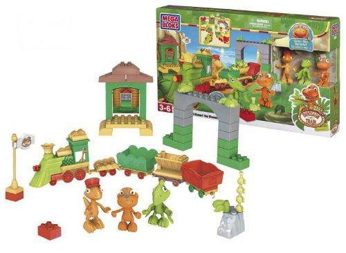 Dino tren - Juego construcción Mega Bloks 07405