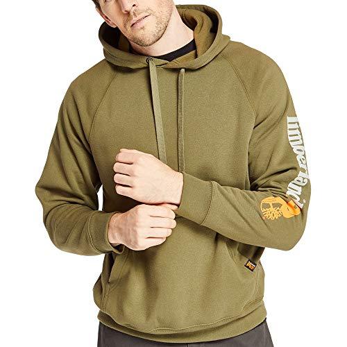 Timberland PRO Men's A1HVY Hood Honcho Sport Pullover - X-Large - Burnt Olive