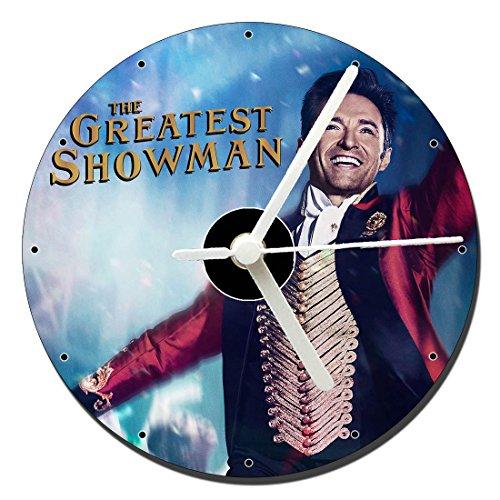 MasTazas The Greatest Showman Hugh Jackman Orologio CD Clock 12cm