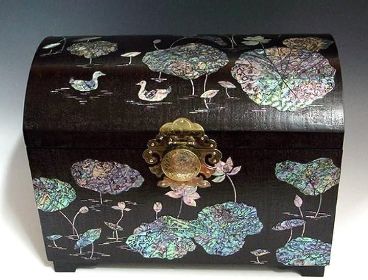Portagioielli in madreperla grande per ciondoli souvenir oggetti preziosi gioielli diamanti porta diamanti B004O61RL2