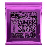 Jeu de cordes pour guitare électrique Ernie Ball Power Slinky Nickel Wound, calibre 11-48