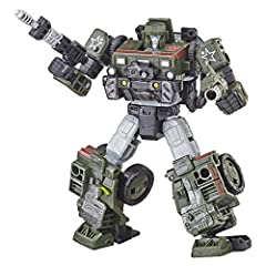 BUILD THE ULTIMATE BATTLEFIELD - The Generations War for Cybertron trilogy introduces an expansive ecosystem of collectible figures. (Each sold separately. Subject to availability). Featuring classic G1 characters, War for Cybertron: Siege plunges fa...