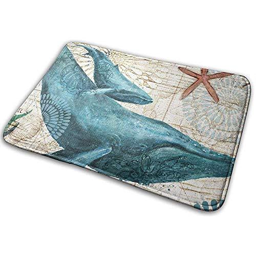 DaiMex Spirit of The Ocean zeelevende wezens badkamertapijt badmat antislip tapijten zacht vloerkleed