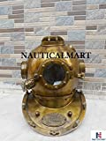 Nautical Sea Deep Scuba Divers Helmet Brass Antique Finish Collectible Mark V