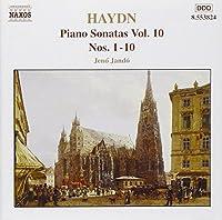 Piano Sonatas 10
