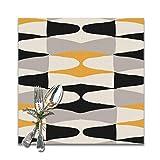 jhgfd7523 Zaha Bee - Juego de 6 manteles individuales (lavables, antideslizantes, cuadrados, 30,5 x 30,5 cm), para cocina, comedor, decoración del hogar