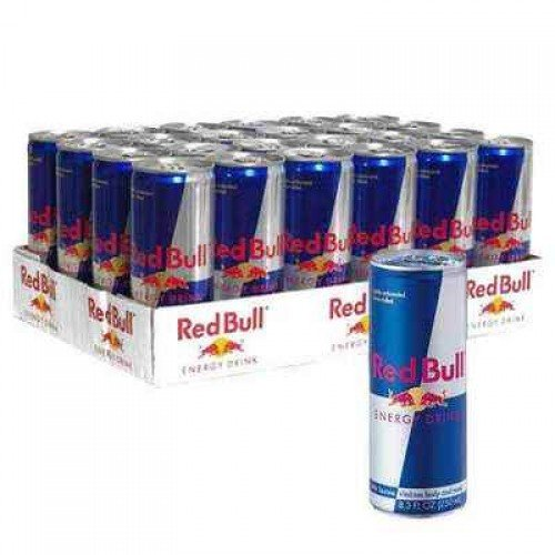 Red Bull Energy Drink - Dose 0,25 l - 96 x 0,25 l