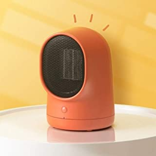 HKDJ-500W Portátil Calefactor Eléctrico con Función De Rotación Silenciosa,Tecnología De Calor PTC,Protección contra Sobrecalentamiento Y Vuelco 16.3 * 15.1 * 21.8CM
