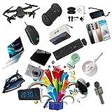 WANDK Caja De Misterio Productos Electrónicos, Cajas De Sorpresa, Nuevos Juegos De Afortunados, Cientos De Productos Electrónicos Distribuidos Al Azar, Dángan Una Experien 1