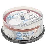 hp(ヒューレット・パッカード) 録画用DVD-Rホワイト・ディスク(SPケース) 25枚
