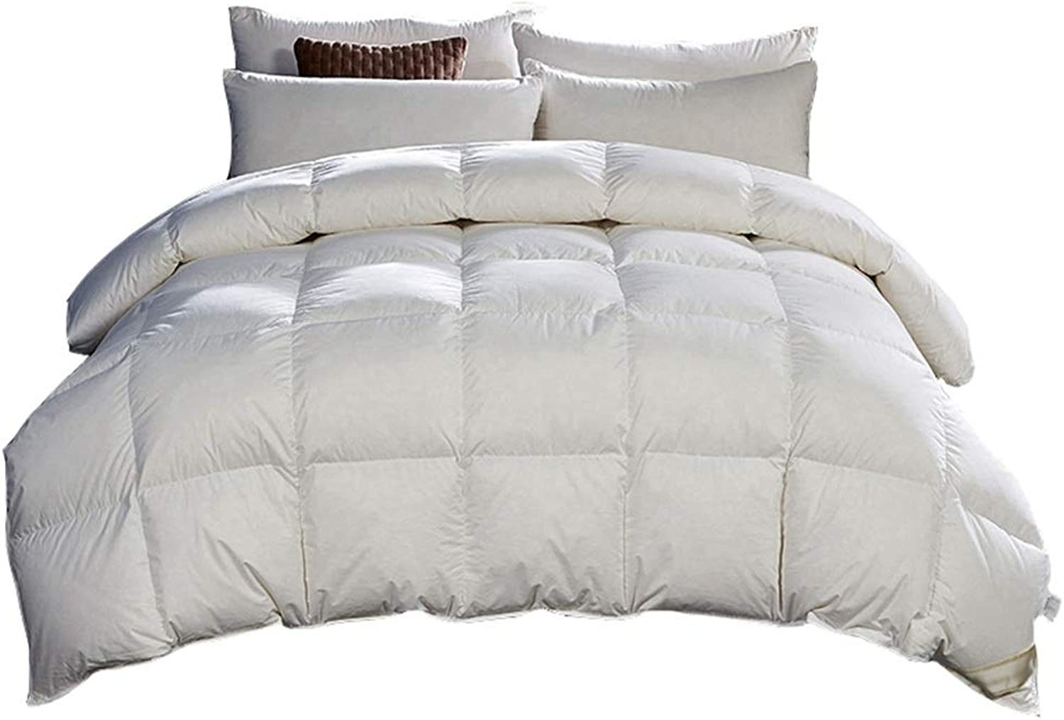Warm Quilt Quilted Duvet Winter Thicked Warm Single Double Bed White Bedding - Family Student Dormitory Comforter - Pure Cotton Fabric Fashion Fluffy Quilt Antiallergic Quilt
