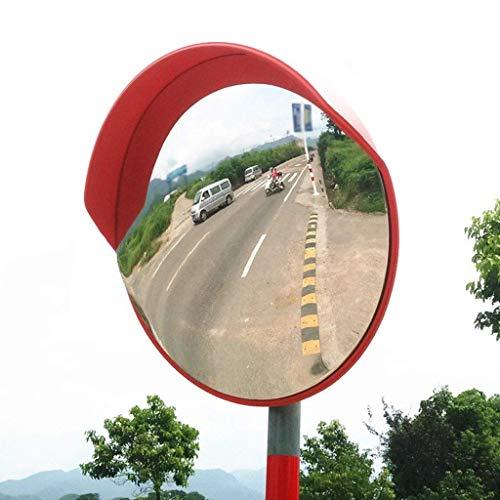 XHZESC Lente Gran Angular para PC de 60 cm, Espejo de tráfico en Carretera Espejo Convexo en la Calle Ampliar Campo de visión Espejo de Punto Ciego (tamaño: 60 cm)